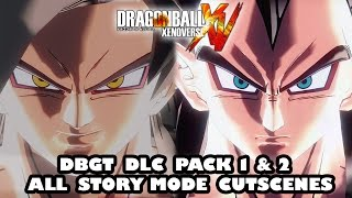 Dragon Ball Xenoverse Complete DBGT Saga DLC Pack 1 & 2 Story Mode [ALL CUTSCENES]