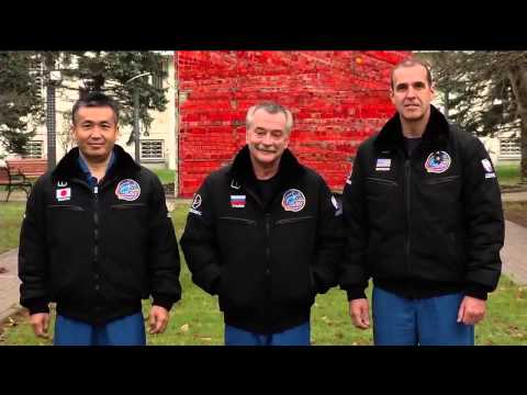 Expedition 38/39 Crew Departs for Kazakh Launch Site