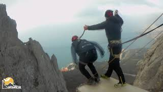 Саша  Ilias-kay Rope jumping with Skyline x-team in Crimea