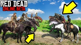 NEW 14v14 CUSTOM LOBBY in Red Dead Online! BEST HORSE Red Dead Redemption 2 Online Open Lobby!