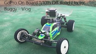 GoPro On Board 1/10th Off Road Electric Buggy - Vlog