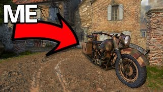 PLAYING COD WW2 AS A BIKE!! - Prop Hunt Funny Moments