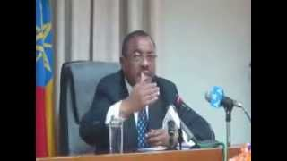 [Ethiopian News] Prime Minister Hailemariam Desalegn Press Conference on Current Issues