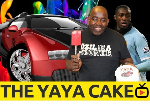 [Banter] Arsenal Fans Cake For Yaya Toure !!!