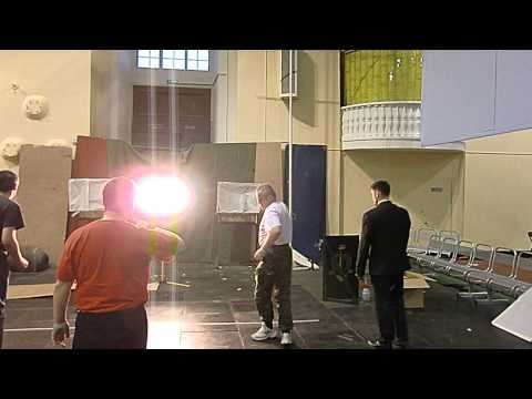 Метание ножей. Дуэль Эксперт. Я и Александр. Зимний стадион. Питер. 2013.10.13.