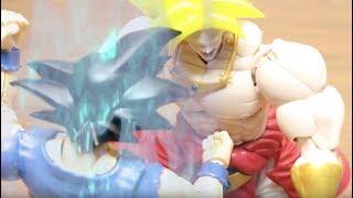 DRAGON BALL STOP MOTION SON GOKU (GOKOU) ULTRA INSCTINCT MAKING MG FIGURE RISE PLASTIC MODEL