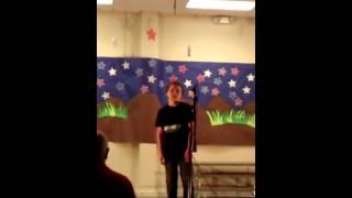 Adams Hill Talent Show 2012 - Robert
