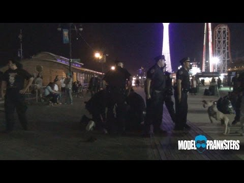 Gang Fight Prank Gone Wrong(arrested) video