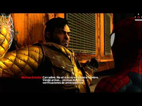 El sorprendente Hombre Araña 2 Gameplay Español XBOX360 parte 1