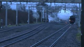 44871 and 45407 The Lancashire Fusilier - Travelling Home For Christmas - 23/12/2013
