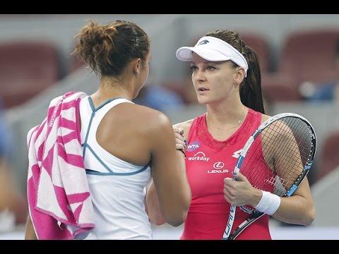 2015 China Open Round of 16 | Agnieszka Radwanska vs Madison Keys | WTA Highlights