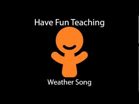 Weather Song by Have Fun Teaching