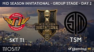 SKT T1 vs TSM - 2017 Mid-Season Invitational - Group Stage Day 2 - League of Legends