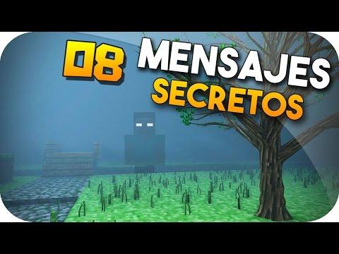 LOS 08 MENSAJES SECRETOS DE MINECRAFT - !! INCREÍBLES ¡¡