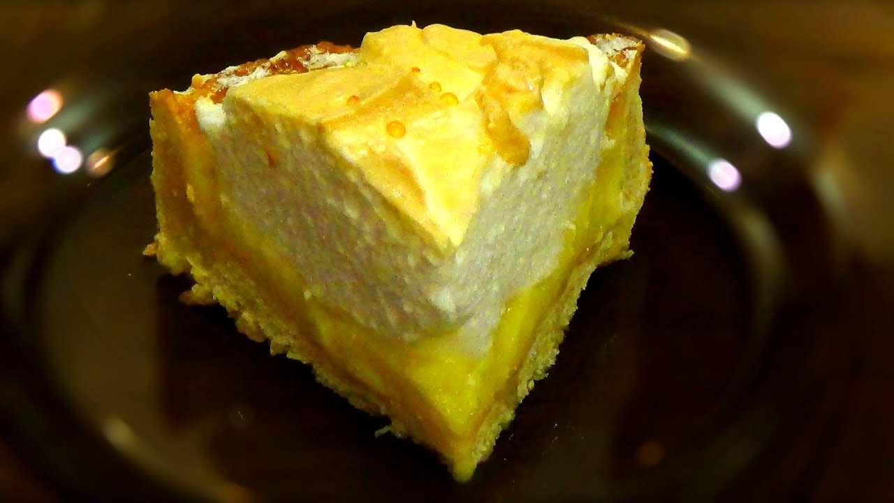 Пирог с лимоном и апельсином рецепт в домашних условиях