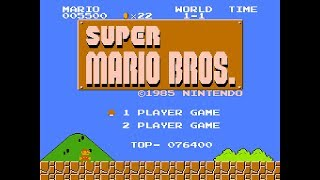 Super Mario Bros. #1 | World 1 | ©1985 Nintendo Entertainment System