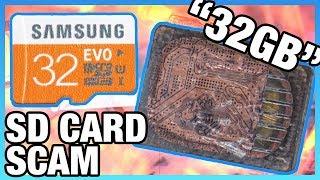 Widespread SD Card Scam: Fake Capacities & Moonlighting Factories