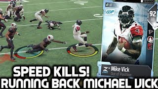 MICHAEL VICK AT RUNNING BACK! SPEED KILLS! Madden 18 Ultimate Team