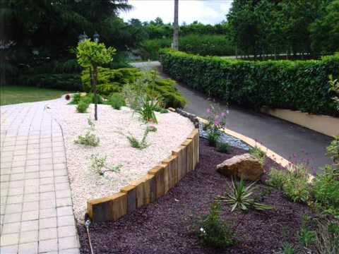 Amenagement de talus youtube Modele de rocaille pour jardin