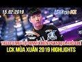[LCK 2019] HLE vs KZ Game 1 Highlights | Thal có tướng tủ Vladimir, Yasuo chém bay Pawn ra khỏi ghế