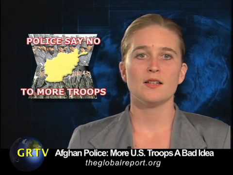 Afghan Police: More U.S. Troops A Bad Idea