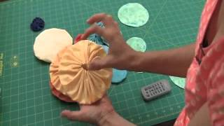 Sew Easy Lesson: Yo-Yos