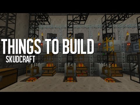 Tekkit | Things to Build in Tekkit - Episode 2 - SkudCraft