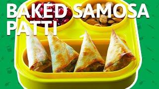 Baked Samosa Recipe | Oven Baked Veg Samosa | Healthy Snacks Recipes | Kids Snack Recipes