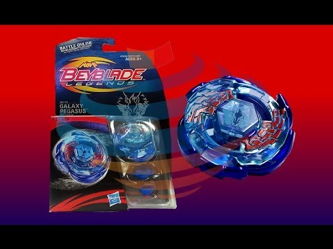 Beyblade Legends BB-70 Galaxy Pegasis W105R2F Review Unboxing Giveaway Expires Aug 5th 2014