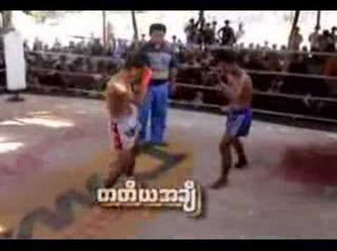 Myanmar Lethwei from Myawaddy, game 2 Image 1