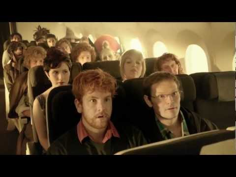 Hobbit Flight Safety Video from Air New Zealand Makes Boring Instructions Fun