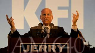 Jerry Brown  -  Climate FREAK!!!!