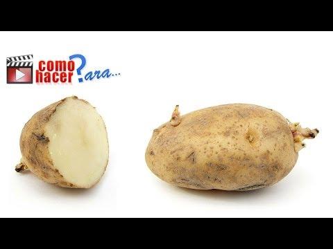 Cómo Pelar Patatas rápido y fácil - Trucos de Cocina