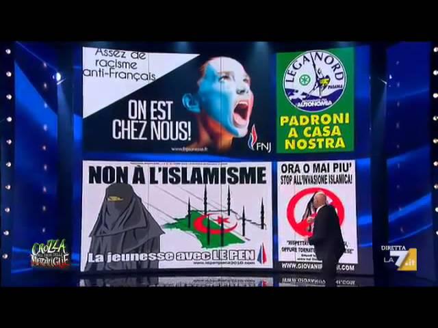 La lega di Salvini dal secessionismo al nazionalismo