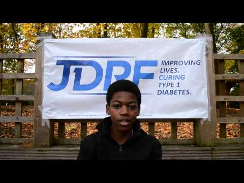Youngsters with Diabetes Type 1 'Why I like Diabetes' - JDRF Youth Ambassador Day 15.11.14
