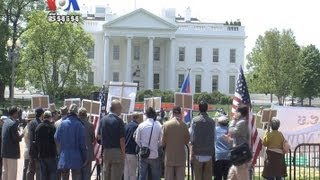 At White House, Demonstrators Call for Cambodian Election Reform (Cambodia news in Khmer)