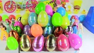 Bốc 31 Trứng Với Đồ Chơi Bất Ngờ Chị Bí Đỏ Công Chúa Disney, Xe Ô tô, Shopkins , Búp bê , Tsum Tsum