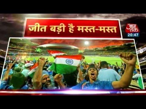 World Cup: Bhangra in India; TVs broken in Pakistan
