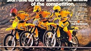 History of the Suzuki RM400 1978-1980 / DirtBikeDudeZ