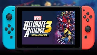 🔴 Continuing my progress in Marvel Ultimate Alliance 3 #8 co op