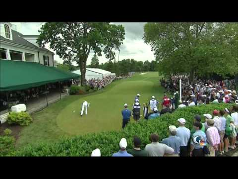 Tiger, Rory, Adam Scott Tee Off