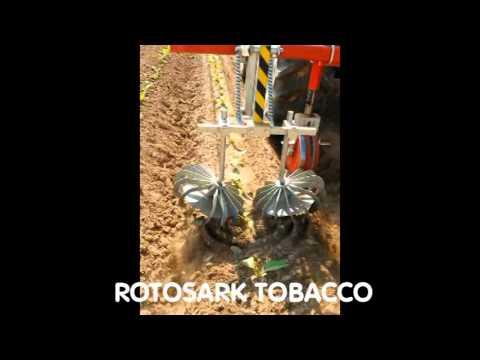 ROTOSARK TOBACCO TABACO TABAC TABACCO SARCHIATRICE BINEUSE WEEDING MACHINE DESYERBADORA HACKMASCHINE