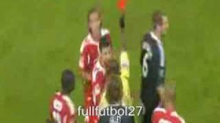 AXEL WITSEL (( STANDAR LIEGE )) BRUTAL FALTA -OVER WASILEWSKI ((ANDERLECHT))