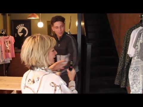 Joey Essex shop tour of new boutique Fusey