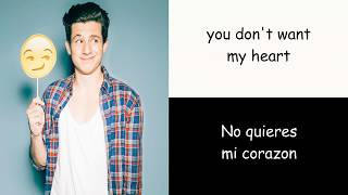Charlie Puth - Attention ( Letter in English and Spanish)