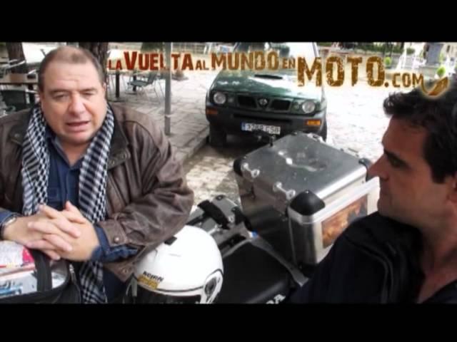 La vuelta al mundo en moto.com: Entrevista a Emilio Scotto.flv