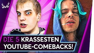 Die 5 KRASSESTEN YouTube-Comebacks! | TOP 5