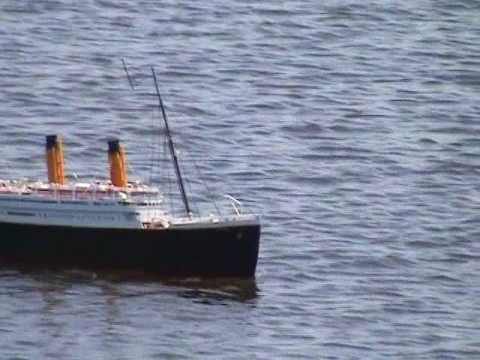 RC 6FT Titanic Scale Model Boat 1:150 Scale