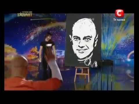 Украина мае талант 4 Денис Дитинюк (художник)