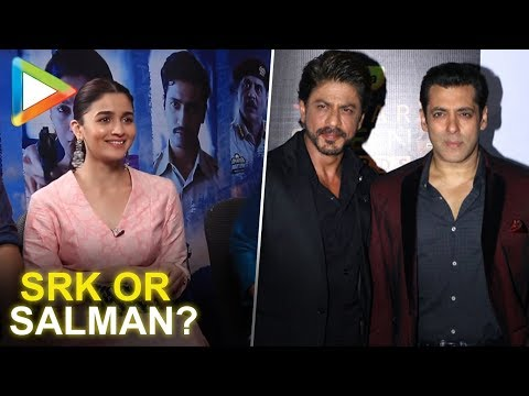 SRK or Salman? Alia Bhatt's surprising answer | TEASER | Vicky | Meghna | RAAZI thumbnail
